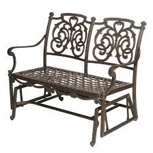Patio Furniture Dallas Tx Hanamint St Augustine Double Glider Outdoor Furniture Sunnyland
