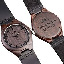 engraved anniversary gifts custom engraved wooden watches for men personalized