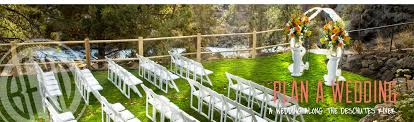 outdoor wedding venues oregon bend oregon wedding venues receptions locations