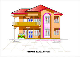 Kerala Home Design Plan And Elevation 2d Elevation And Floor Plan Of 2633 Sq Feet Kerala Home Design