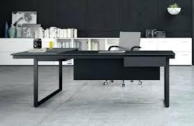 bureau design noir laqué bureau noir design bureau sign la bureau en l for bureau cm bureau
