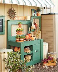 10 potting bench ideas with free building plans tuesday ten