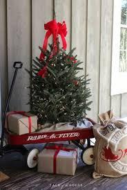 Pre Lit Mini Christmas Tree - fairfax lighted decorated christmas tree with flocking 7 u0027h