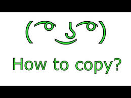 Copy And Paste Meme Faces - how to copy the lenny face on any device reimarpb 箍 齧