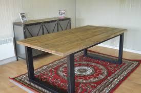table cuisine table style industriel unique table cuisine style industriel galerie