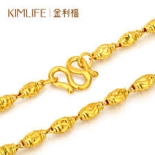 golden chain necklace men images Gold jewellery kimlife gold necklace 999 gold olive gold chain jpg