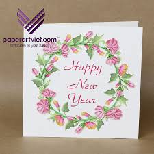 new years card greetings paper viet pop up cards greeting manufacturer handmade 3d