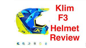 fox f3 motocross boots klim f3 helmet review episode 215 youtube