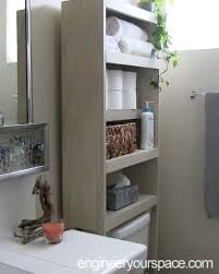 Diy Bathroom Wall Cabinet by Bathroom Storage Bathroom Wall Cabinets Over The Toilet Jeco Inc