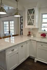 White Kitchen Cabinets With Dark Floors 25 Dreamy White Kitchens White Shaker Cabinets Shaker Cabinets