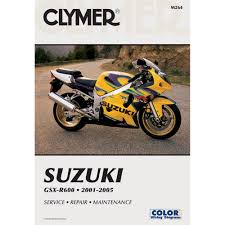suzuki gsx r600 2001 2005 clymer manuals motorcycle repair