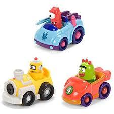 Yo Gabba Gabba Bed Set Ppw Yo Gabba Gabba Foam Bath Figures Toys