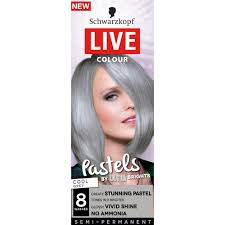 how to mix schwarzkopf hair color buy live colour pastels cool grey 1 pack by schwarzkopf online