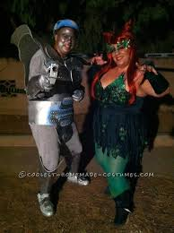 Homemade Catwoman Halloween Costume Cool Freeze Poison Ivy Couple Costume Homemade