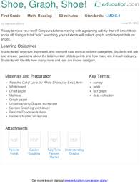 graphing lesson plans education com