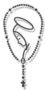 catholic rosary rosary catholic auto metalic car decal christian