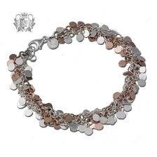 multi chain silver bracelet images Multi toned bracelets sterling silver rose gold metalsmiths jpg
