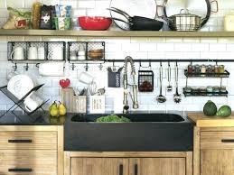 crochet ustensile cuisine barre pour ustensile avec crochet barre ustensiles cuisine une