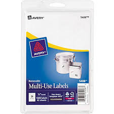 avery 5408 removable id labels quill com