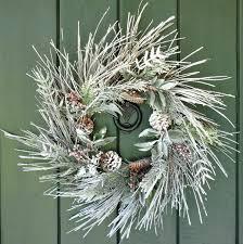 chilly handmade winter wreath designs for your front door