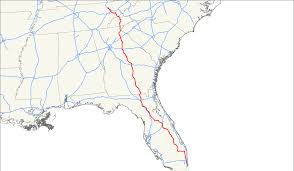 Driving Map Of Florida by U S Route 441 Wikipedia
