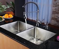 Kitchen Faucet With Sprayer And Soap Dispenser Kitchen Faucet Set Kraususa Com