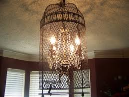 ideas unique cage wine barrel chandelier with crown molding and
