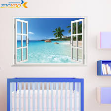 aliexpress com buy 3d window frame whole view stickers aeproduct