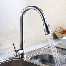 brushed nickel faucet with stainless steel sink brushed nickel faucet kitchen snaphaven com