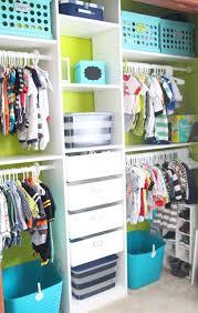 nursery closet storage ideas