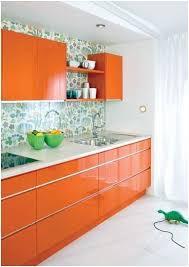 Orange Kitchen Ideas Green Orange Kitchen Robinsuites Co