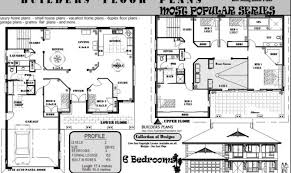 17 best 6 bedroom house floor plans house plans 43867