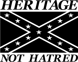 Southern Rebel Flag Southern Heritage Not Hatred Vinyl Decal Sticker