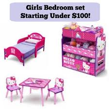 Walmart Toddler Bed Disney Little Mermaid Or Hello Kitty Toddler Bed Set Under 100