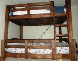 Building Plans For Twin Over Full Bunk Beds With Stairs by Amazon Com Bunk Bed Paper Plans So Easy Beginners Look Like