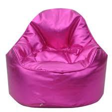 mini me pod bean bag chair cotton print
