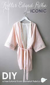 patron robe de chambre femme gratuit diy une robe de chambre de petit citron de petit citron