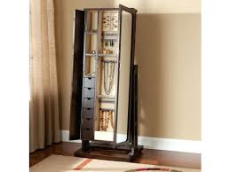 Jewelry Armoire Antique White Standing Mirror Jewelry Armoire White Mirrored Standing Jewelry