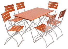 European Bistro Chair European Bistro Set Rectangle Table And 6 Chairs