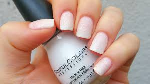 ombre french manicure design youtube