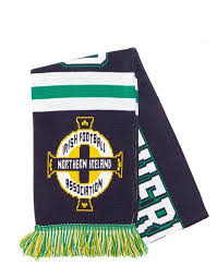 official team northern ireland jacquard scarf jd sports