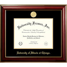 of illinois diploma frame of illinois at chicago classic diploma frame