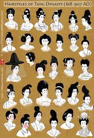 korean men s hairstyles ancient hairstyles of china s tang dynasty women by lilsuika on deviantart