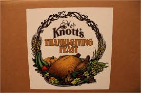 just another hat thanksgiving dinner from knott s berry farm