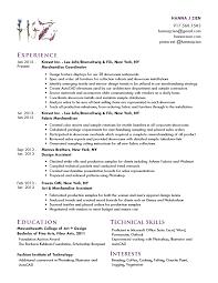 Merchandiser Resume Cv U2014 Hanna J Zien