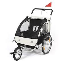 siege pour remorque velo remorque samax buggy pour vélo blanc noir