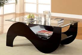 furniture of america essance high gloss black lacquer glass top