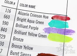 balzer designs art tip make paint swatches