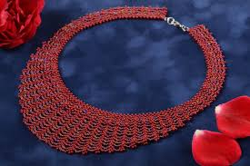 beautiful beads necklace images  jpg
