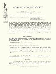 native plant society of oregon download 1995 utah native plant society annual compliations
